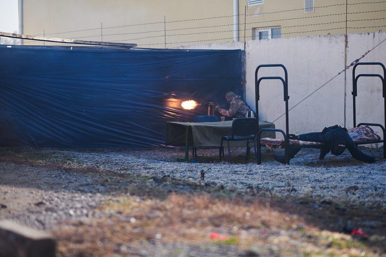 Испугавшую белгородцев стрельбу устроил ОМОН, фото-7