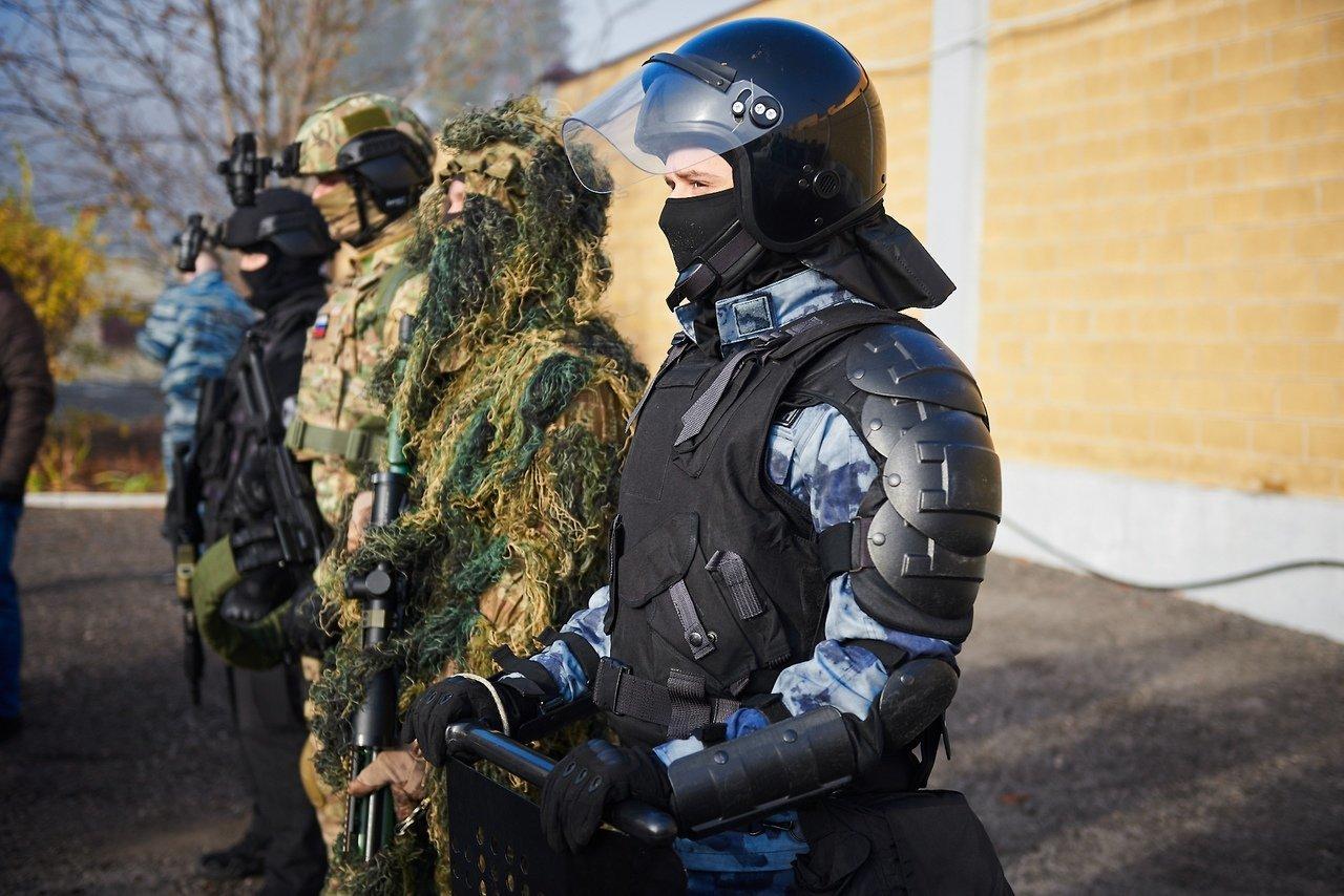 Испугавшую белгородцев стрельбу устроил ОМОН, фото-12
