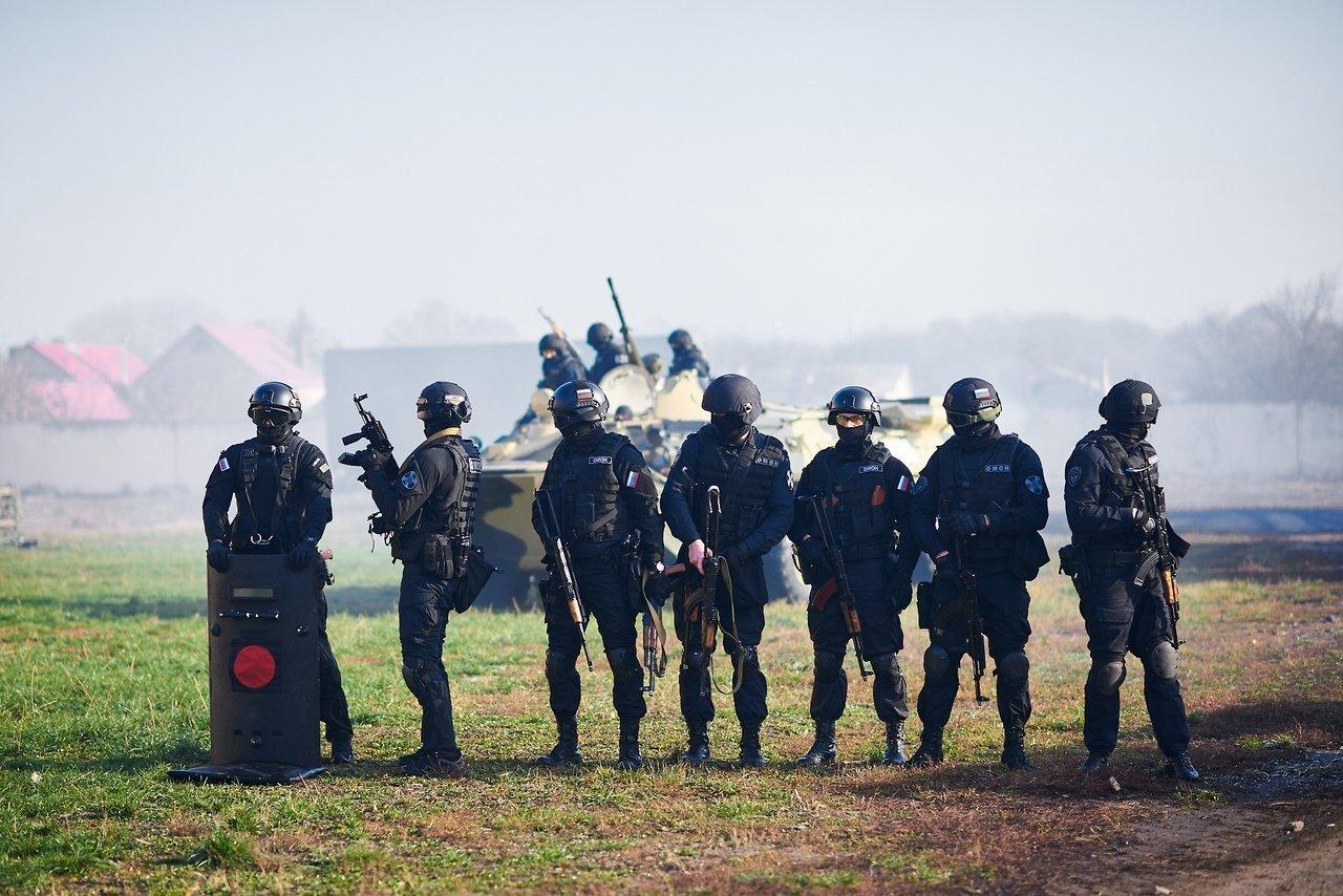 Испугавшую белгородцев стрельбу устроил ОМОН, фото-10