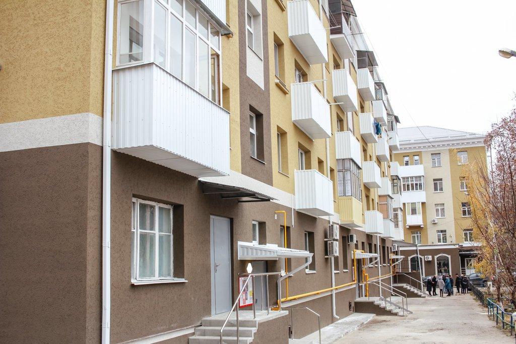 В Белгороде отремонтировали дома возле Соборной площади, фото-1