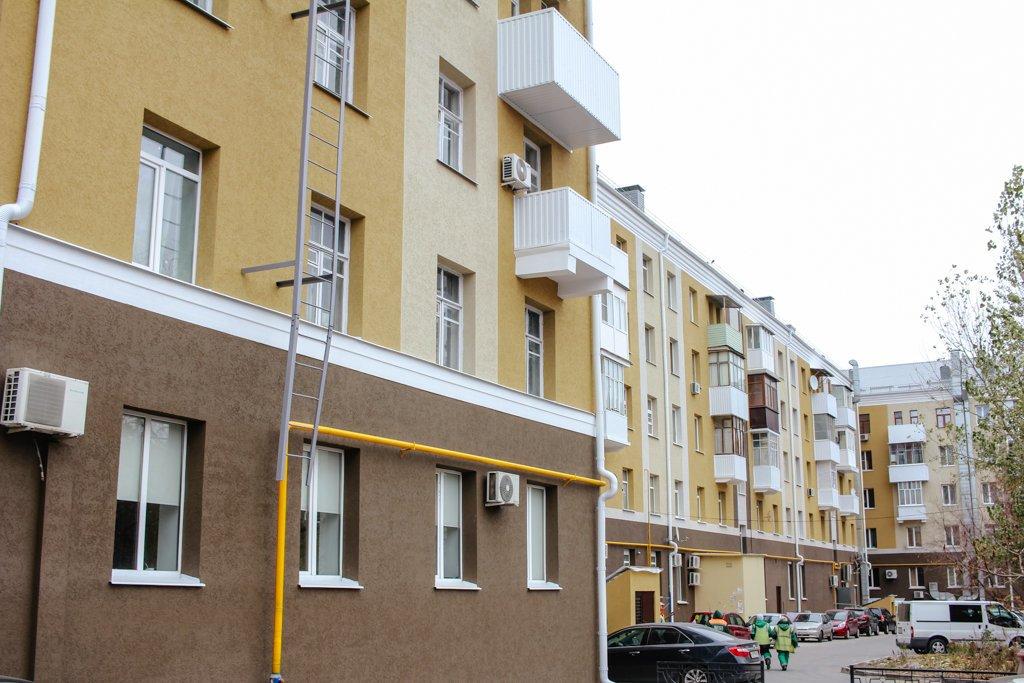 В Белгороде отремонтировали дома возле Соборной площади, фото-4