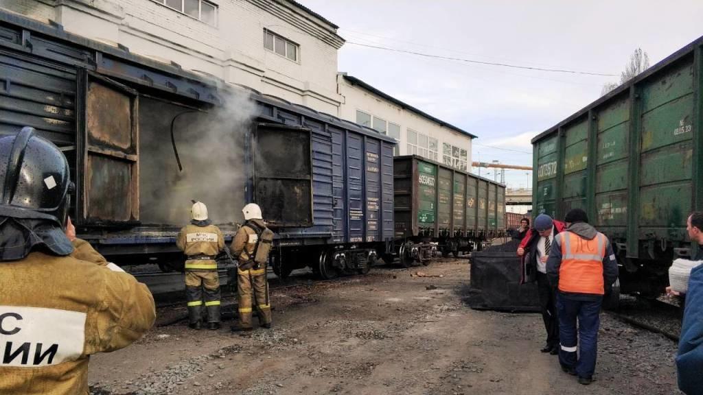 В Белгороде на ЖД вокзале загорелся вагон [обновлено], фото-3