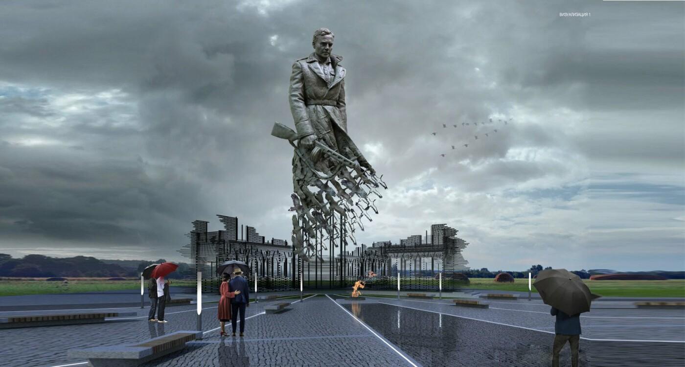 В России объявили сбор денег на Ржевский мемориал, созданный белгородским скульптором , фото-2
