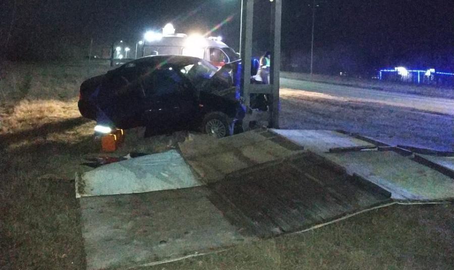 В Старом  Осколе разбился 21-летний водитель , фото-1