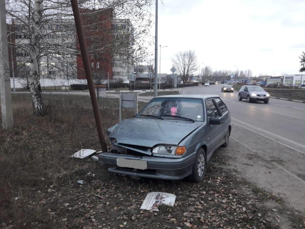 Под Белгородом водитель сбил треногу с камерой, фото-1