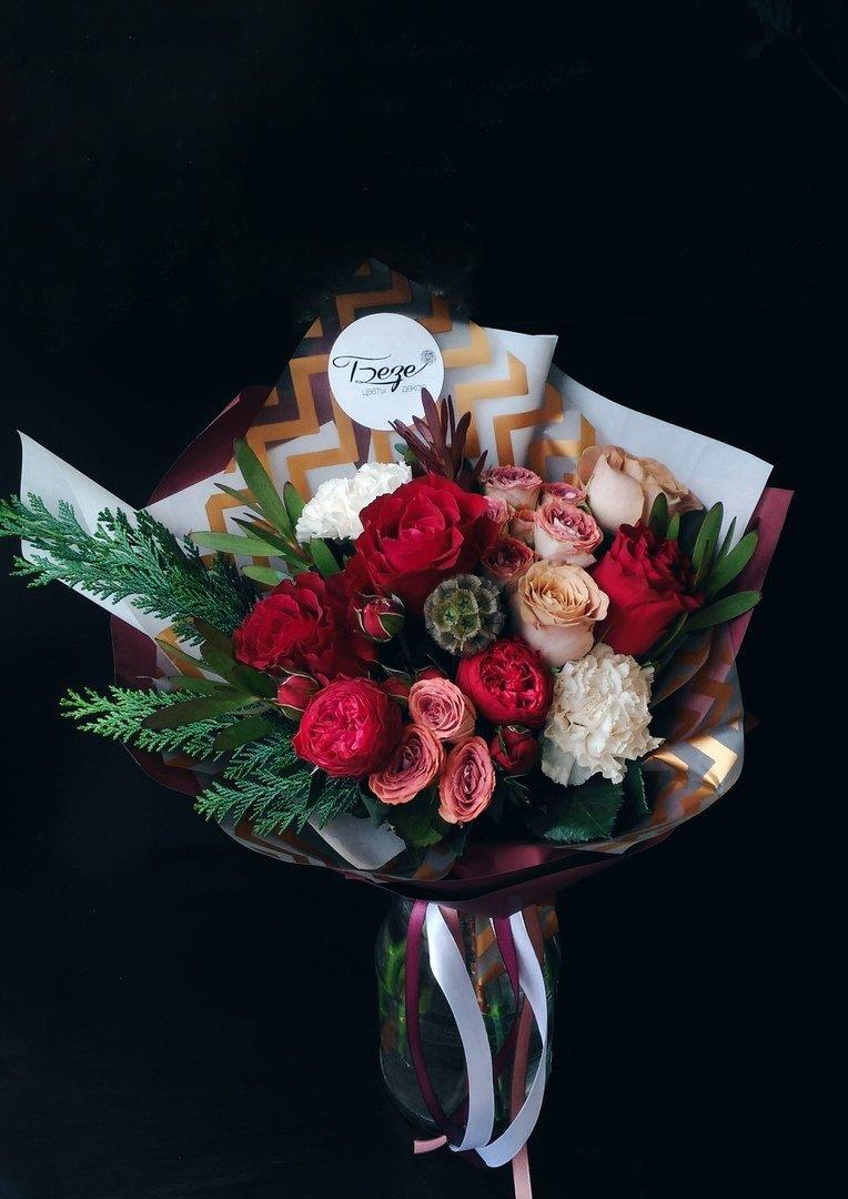 Оригинальные букеты для любимых мам — в цветочной лавке «Безе», фото-1