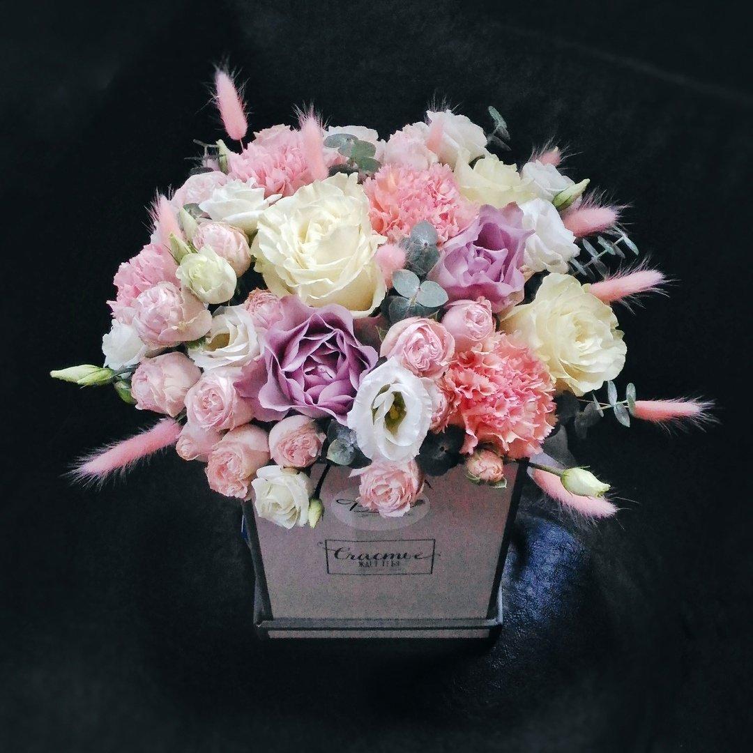 Оригинальные букеты для любимых мам — в цветочной лавке «Безе», фото-8
