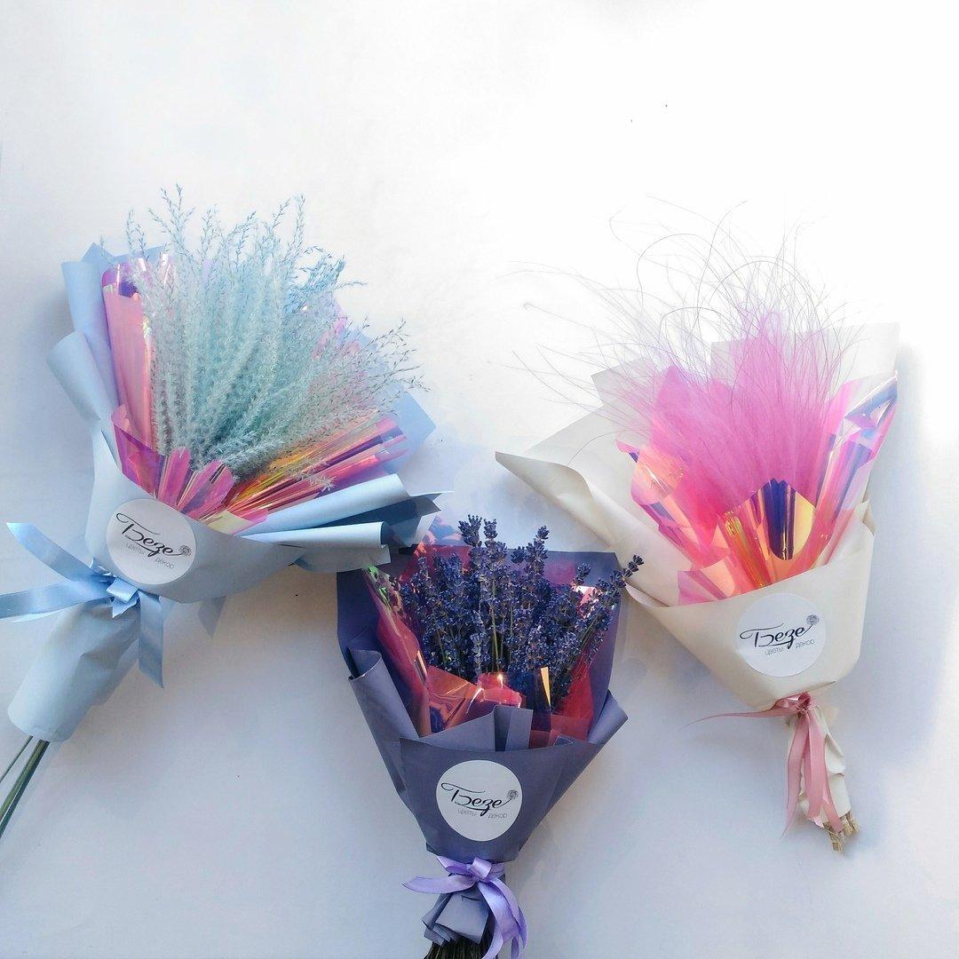 Оригинальные букеты для любимых мам — в цветочной лавке «Безе», фото-7