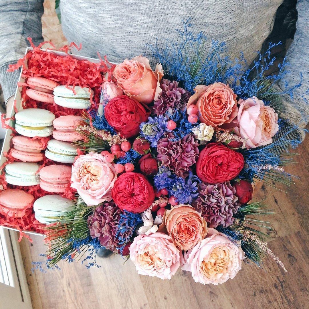 Оригинальные букеты для любимых мам — в цветочной лавке «Безе», фото-3
