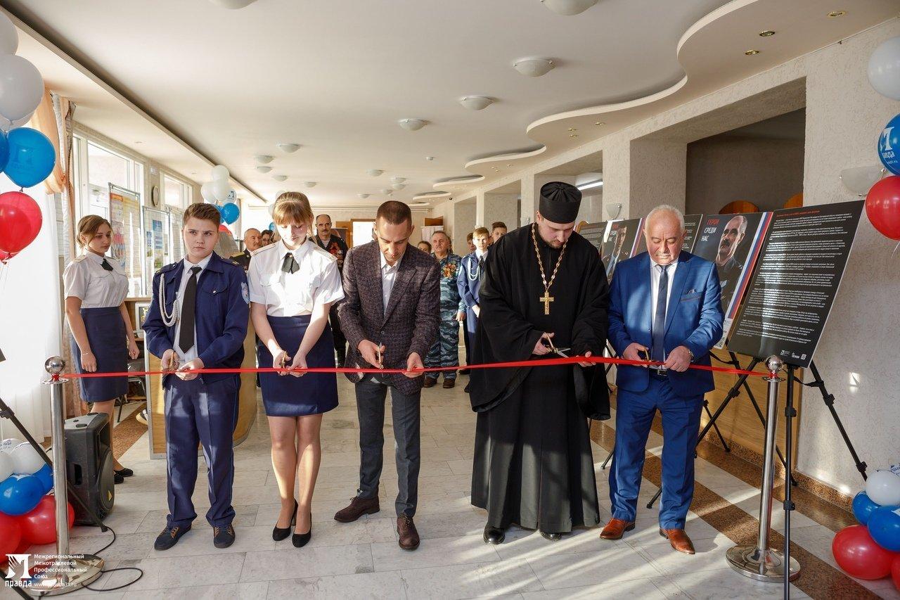 Белгородская область богата героями: фотовыставка «Герои среди нас» приехала в Красную Яругу, фото-7