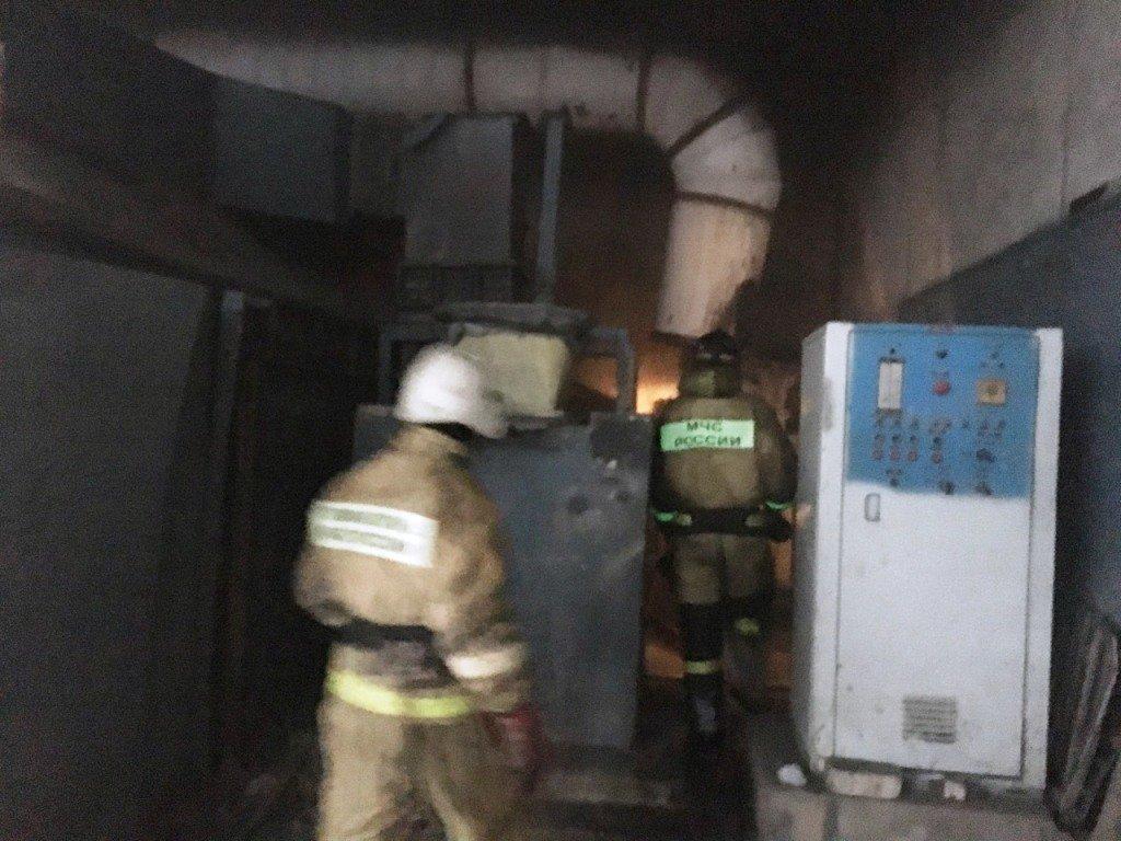 На оптовом складе на Крейде потушили пожар, фото-1