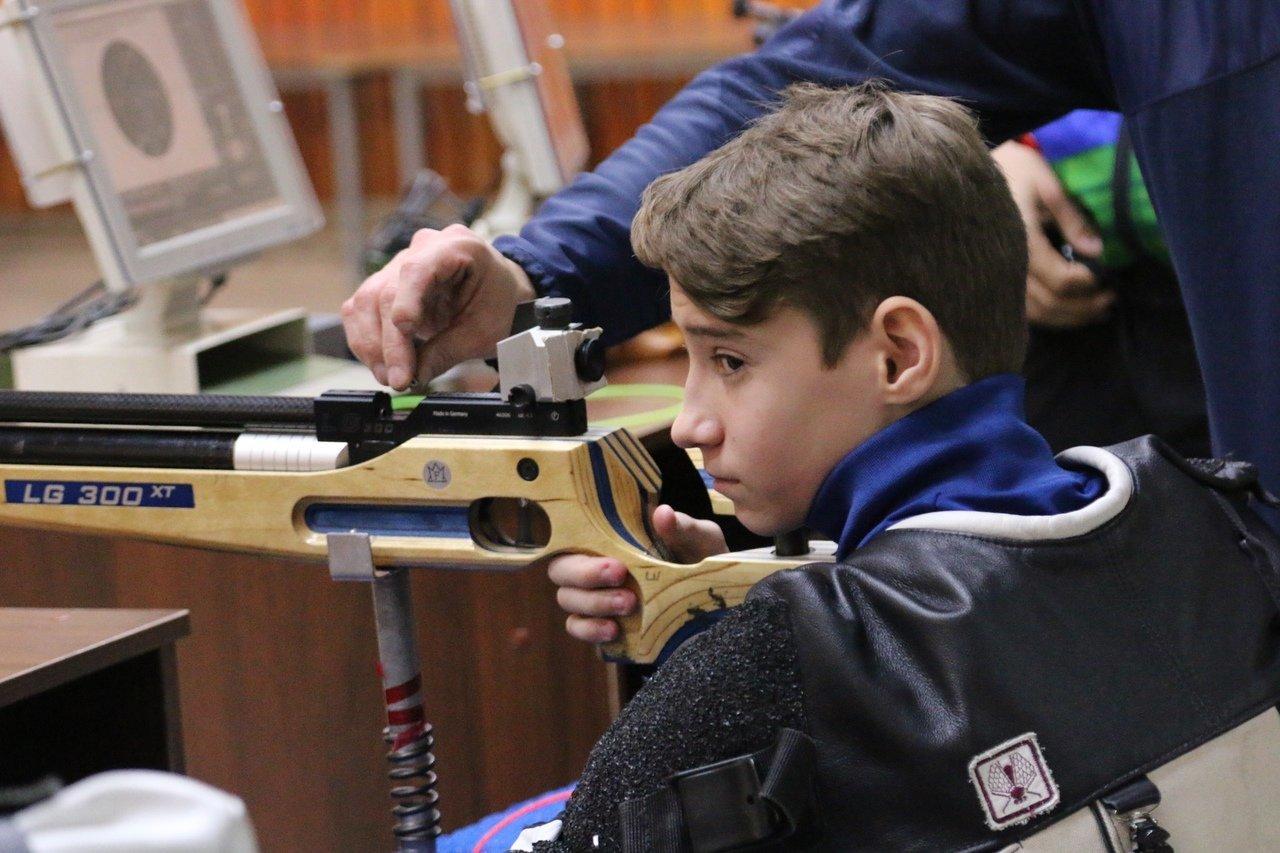 На чемпионате Белгородской области выявили лучших стрелков с особенностями развития, фото-12
