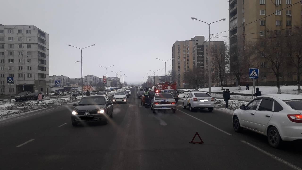 В Вейделевке перевернулась автомобилистка, фото-1