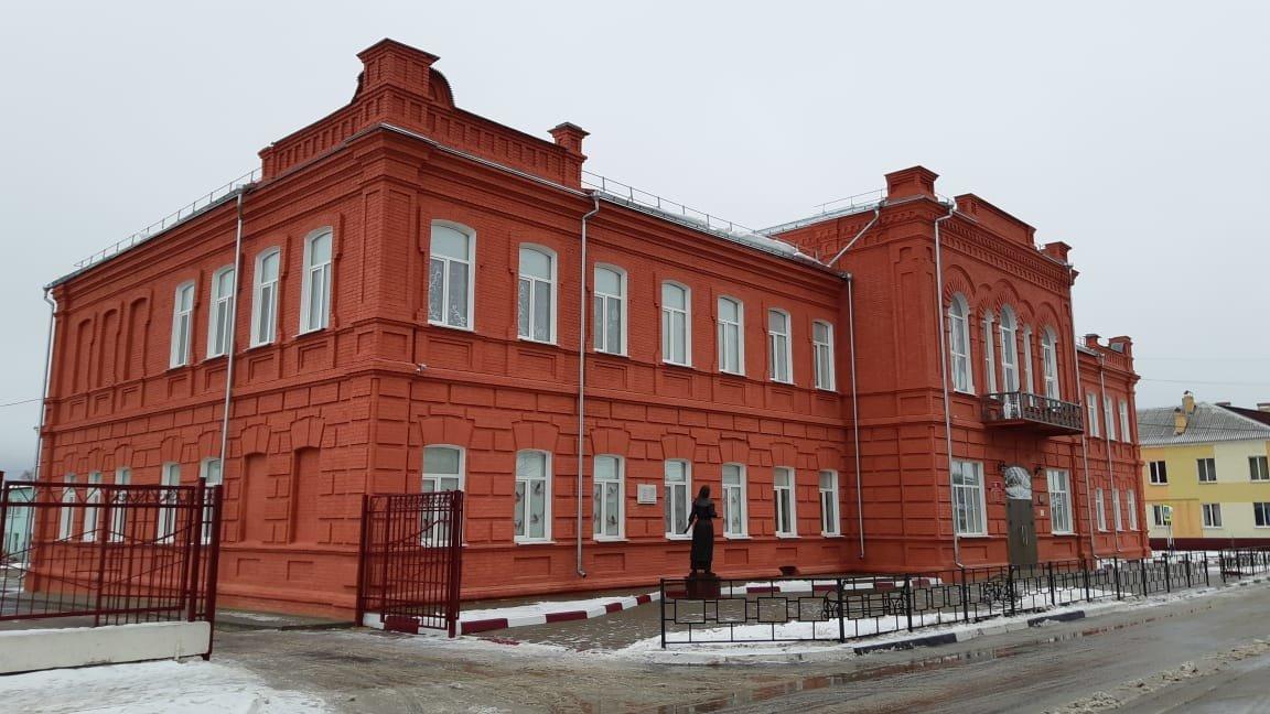 В Новом Осколе отремонтировали историческое здание школы, фото-1