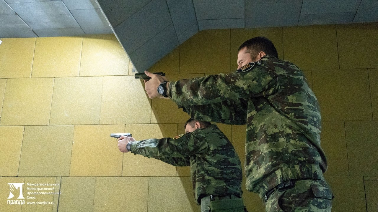 Чемпионат по стрельбе регионального Управления Росгвардии прошёл в Белгороде, фото-1