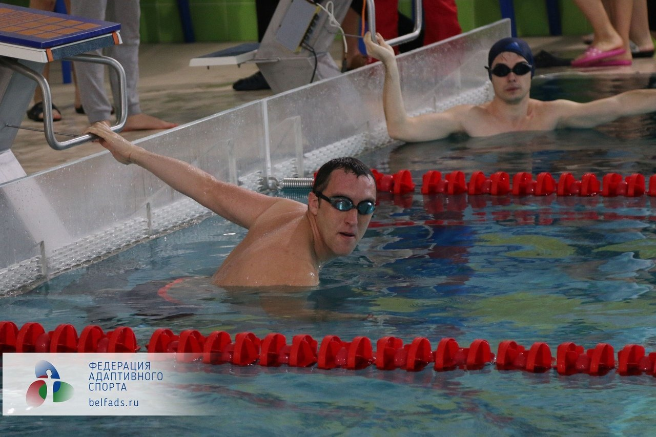 В Белгороде прошёл Чемпионат области по плаванию среди спортсменов с ОВЗ, фото-5