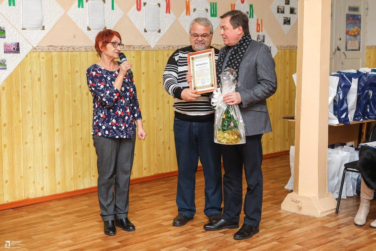 Олег Полухин и Сергей Фуглаев поздравили воспитанников валуйской школы для слабовидящих, фото-15