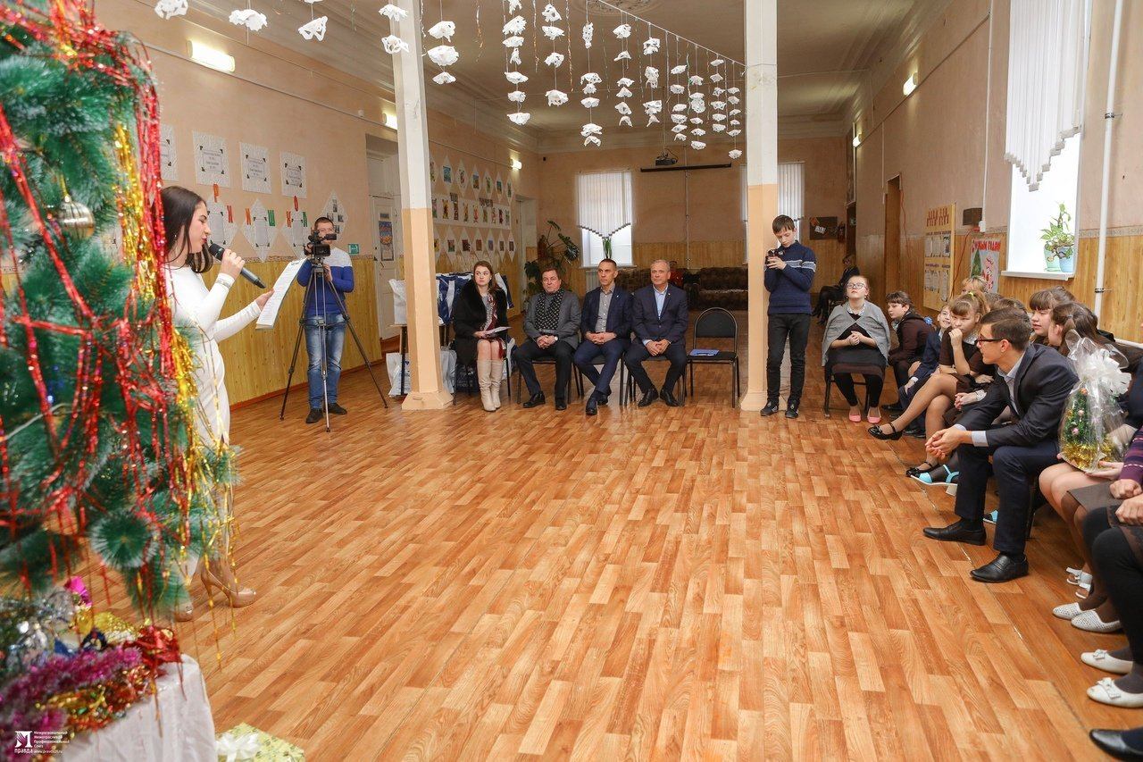Олег Полухин и Сергей Фуглаев поздравили воспитанников валуйской школы для слабовидящих, фото-14
