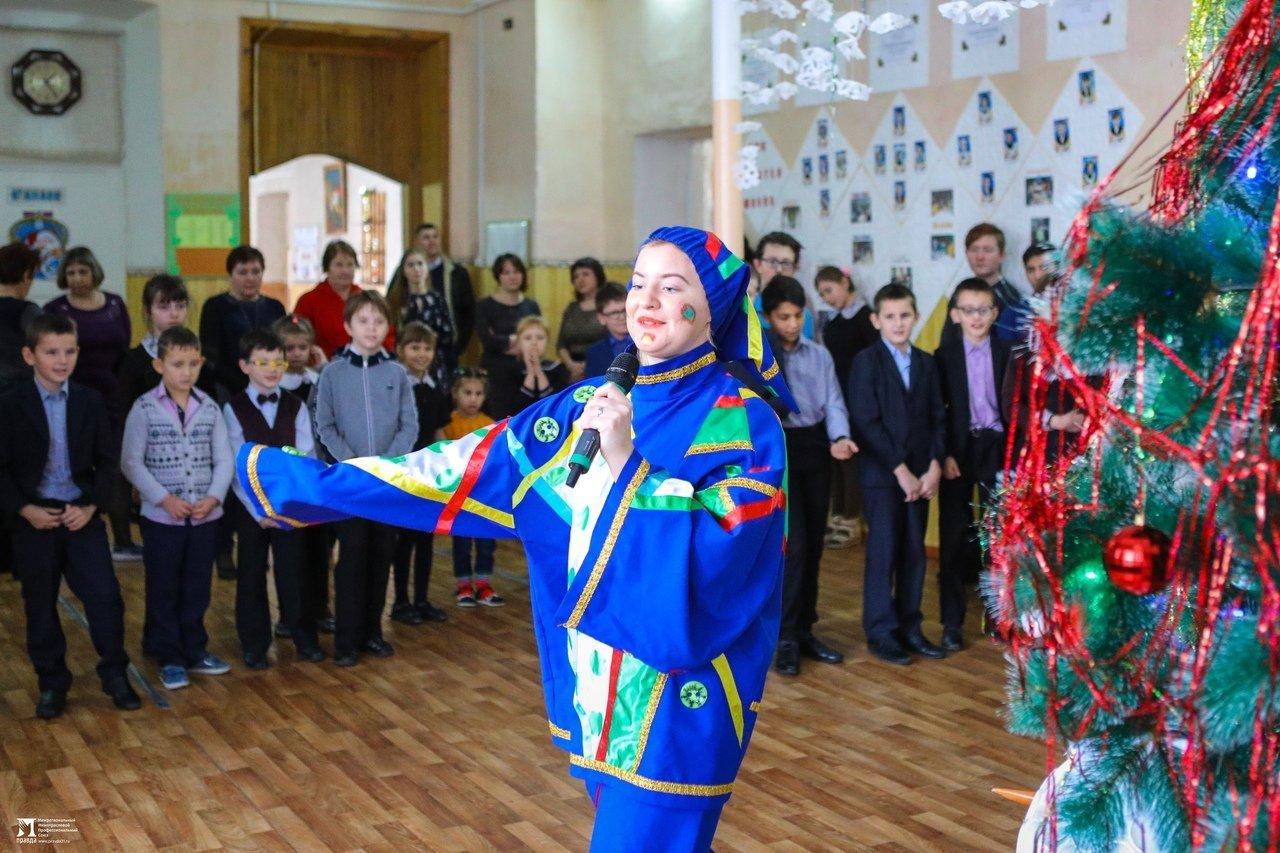 Олег Полухин и Сергей Фуглаев поздравили воспитанников валуйской школы для слабовидящих, фото-16