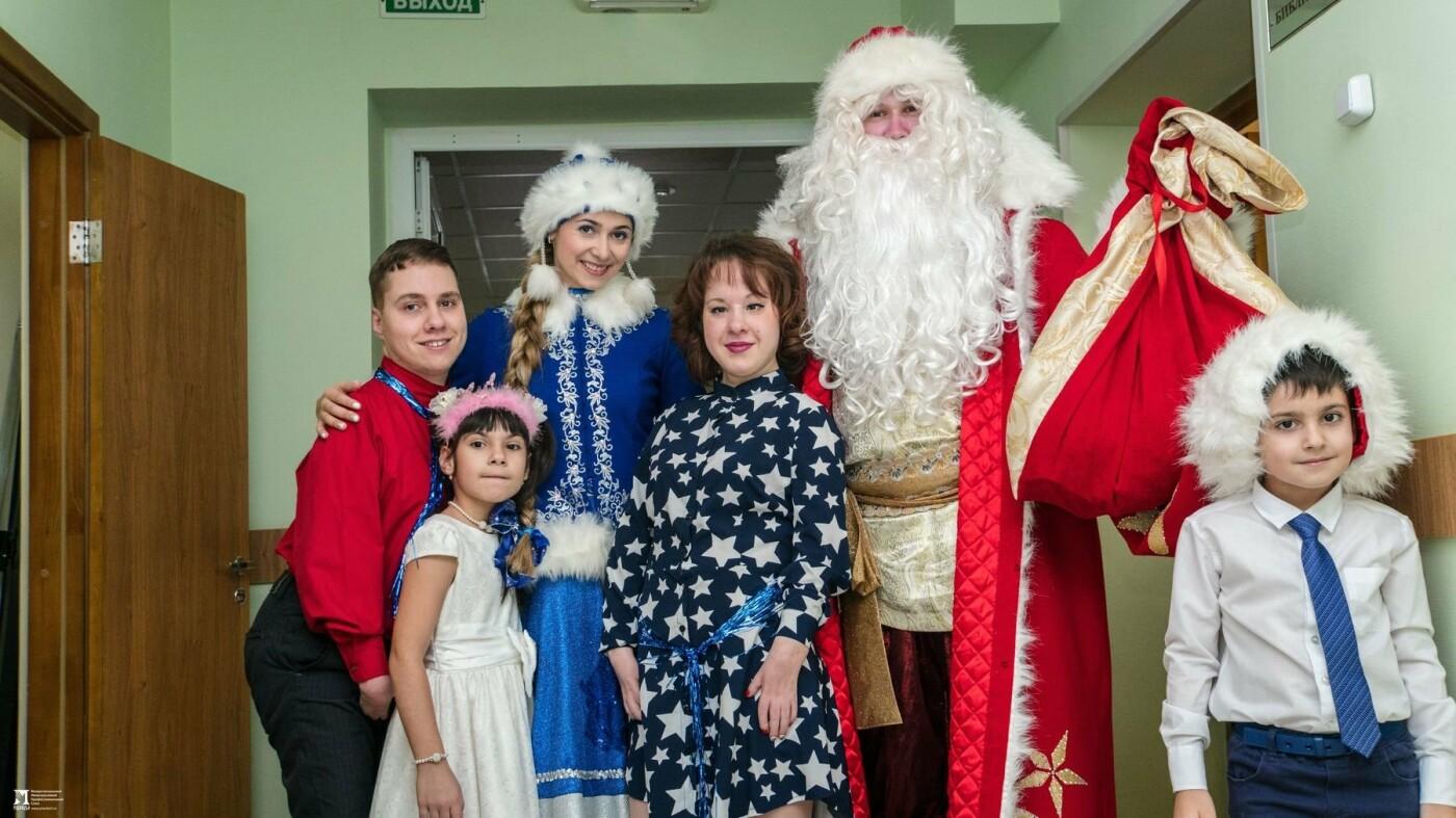 «Правдивцы» поздравили с Новым годом ребят из центров реабилитации для особенных детей, фото-1