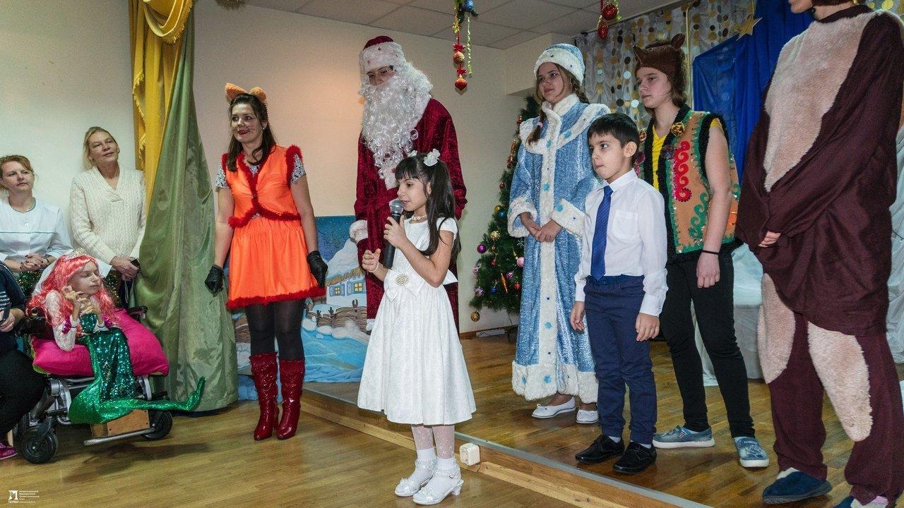 «Правдивцы» поздравили с Новым годом ребят из центров реабилитации для особенных детей, фото-17