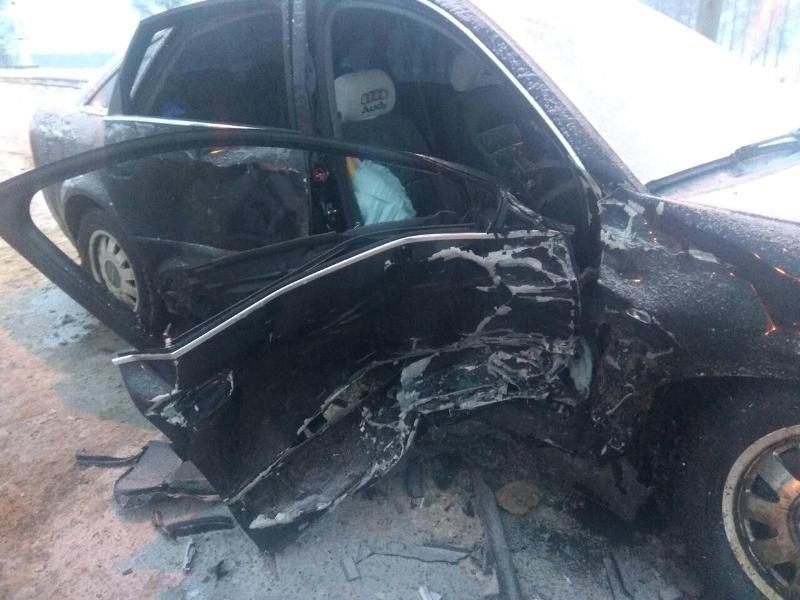 Невнимательность автомобилистки привела к аварии на трассе под Белгородом , фото-1