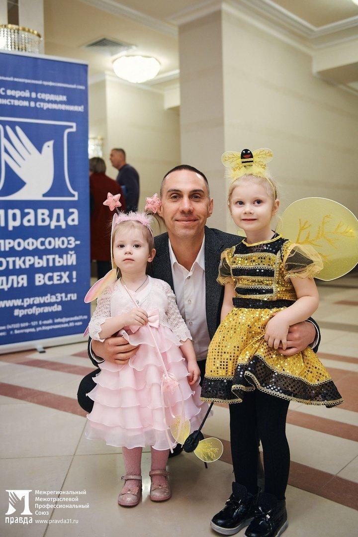 Профсоюз «Правда» организовал новогодние утренники для двух с половиной тысяч маленьких белгородцев, фото-3