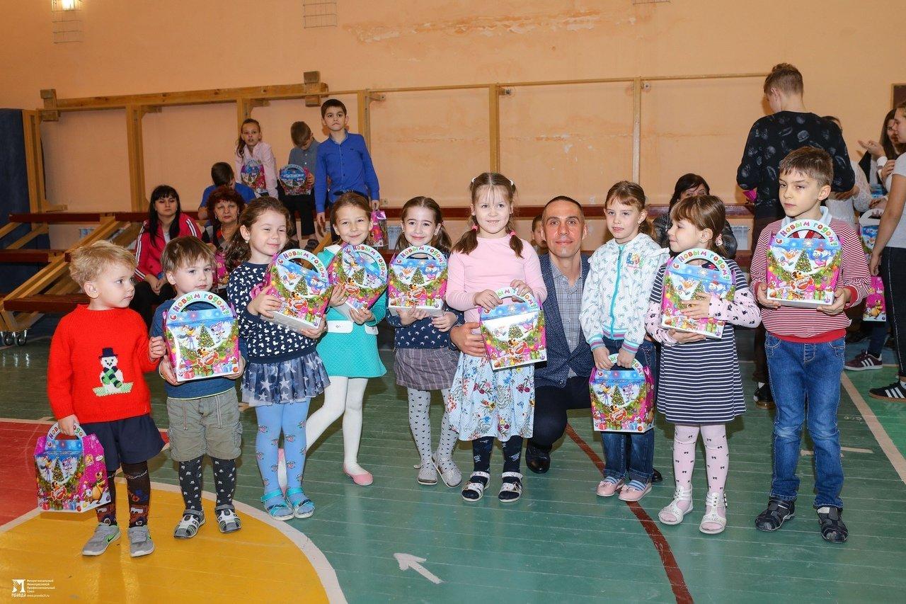 Профсоюз «Правда» подарил новогодний праздник школе-интернату №23, фото-3
