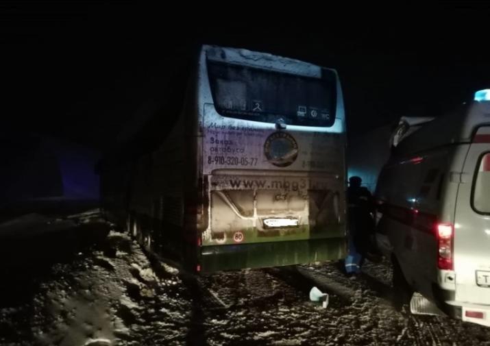 В Тульской области в ДТП попал автобус с белгородцами, фото-1
