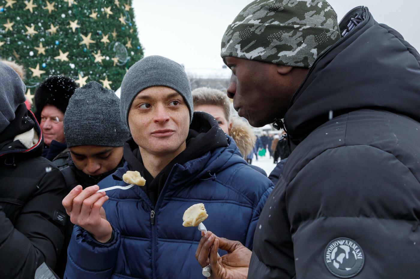 Как в Белгороде провели фестиваль вареников (фото), фото-13