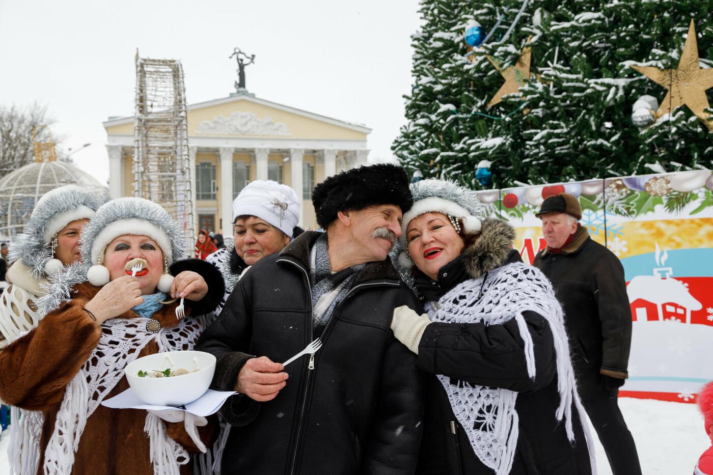 Как в Белгороде провели фестиваль вареников (фото), фото-9