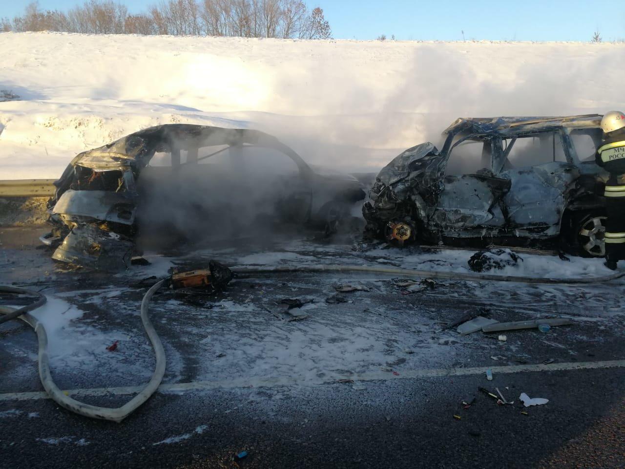 В тройном ДТП под Воронежем погибли директор и водитель ОЭМК , фото-2