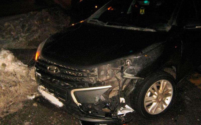 На улице Есенина произошла тройная автоавария, фото-2