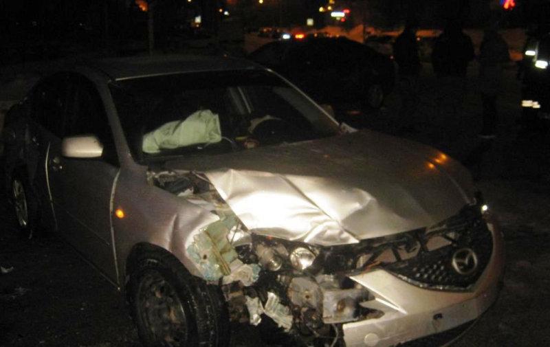 На улице Есенина произошла тройная автоавария, фото-4