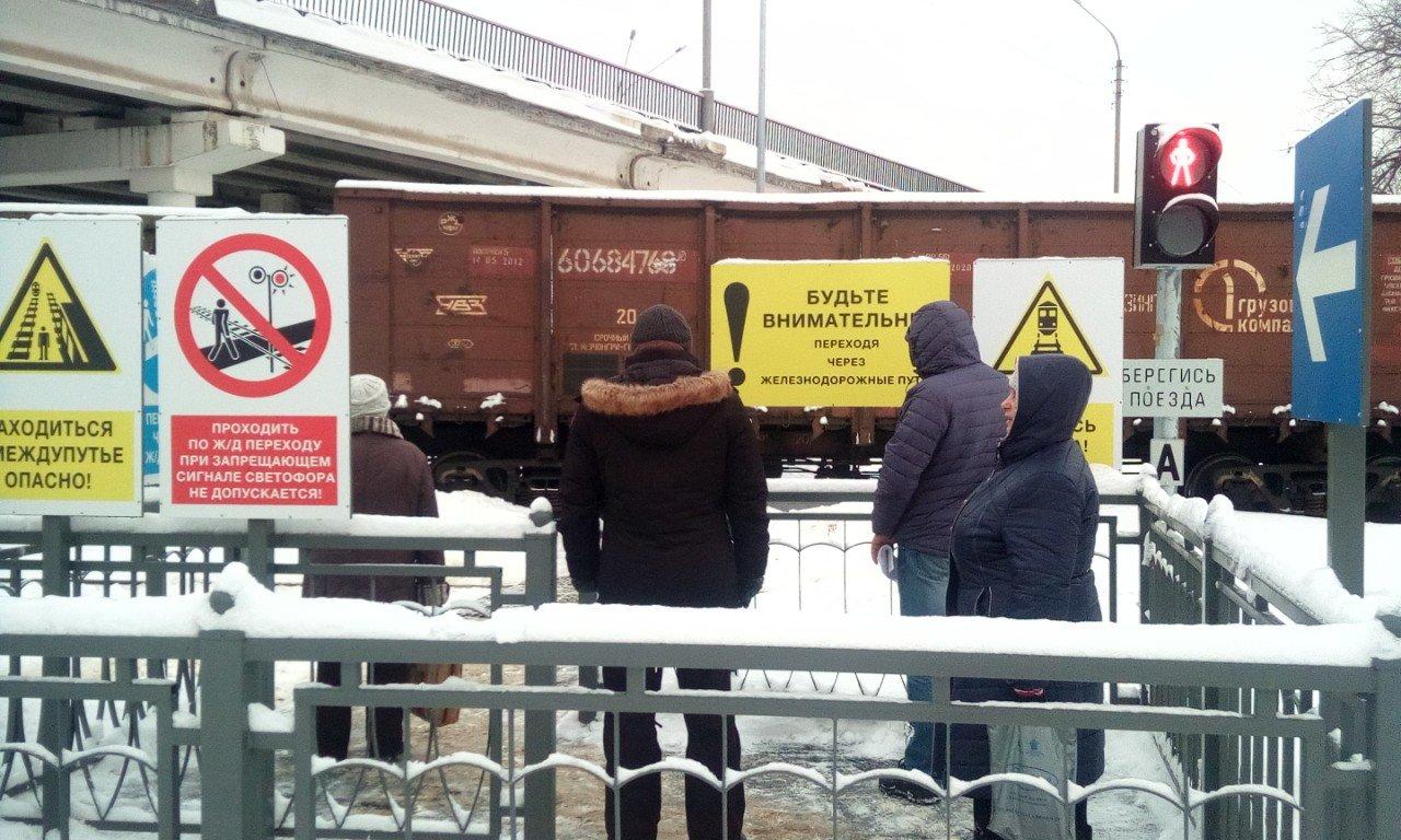 Новый пешеходный переход открылся на станции Крейда, фото-1