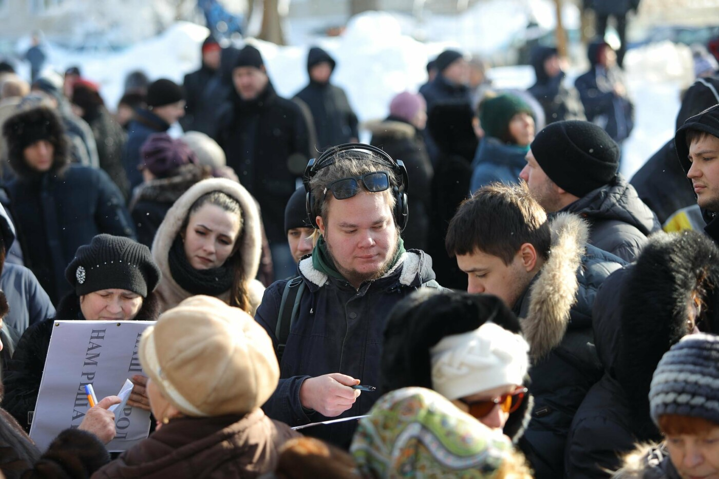 Белгородцы провели массовую акцию против новых правил благоустройства, фото-3, Фото Антона Вергуна