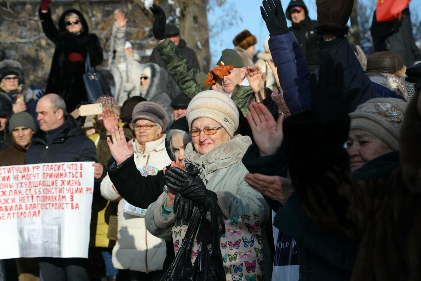 Белгородцы провели массовую акцию против новых правил благоустройства, фото-6, Фото Антона Вергуна