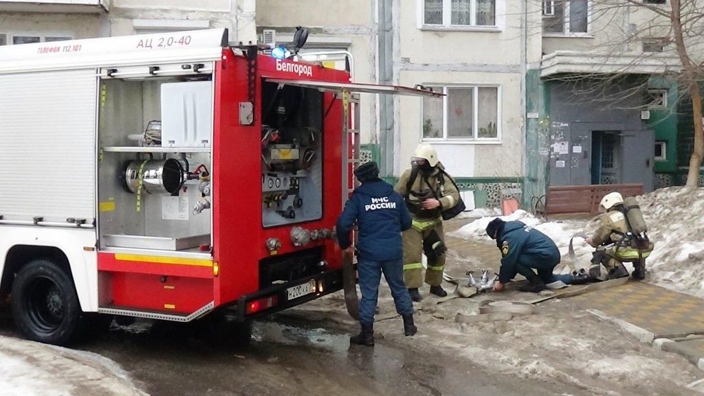 В Белгороде на Гостёнской сгорела квартира: пострадал хозяин , фото-1