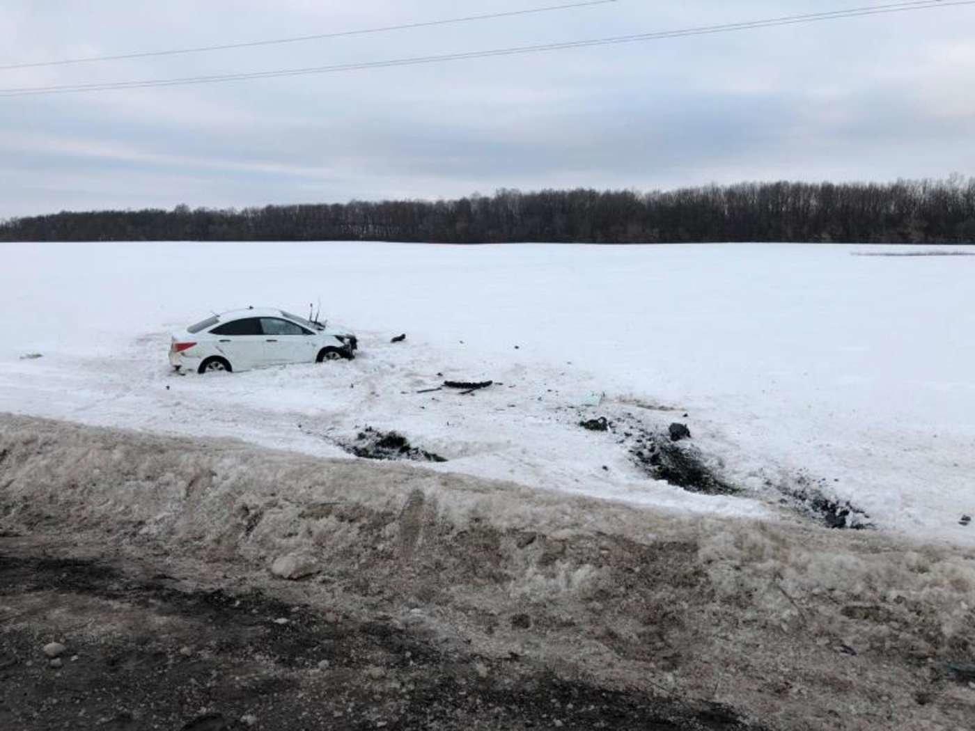 В столкновении «Лады» с КамАЗом в Белгородской области погибла пенсионерка, фото-1