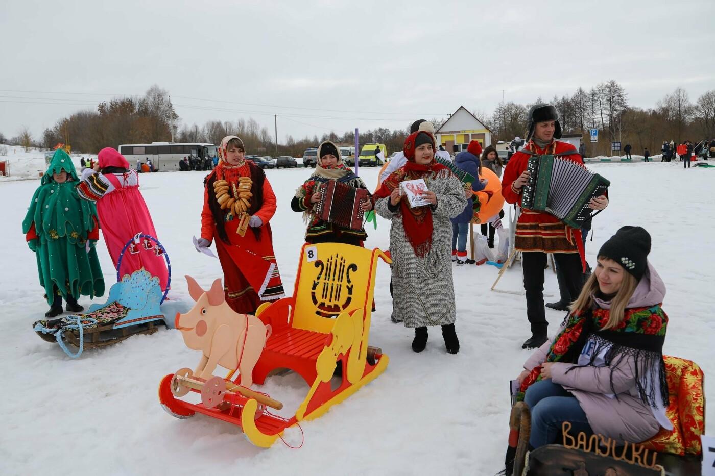 Под Прохоровкой прошёл фестиваль «Маланья зимняя» (фото), фото-1
