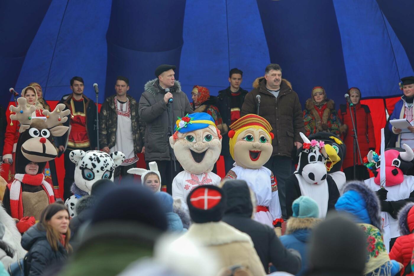 Под Прохоровкой прошёл фестиваль «Маланья зимняя» (фото), фото-8