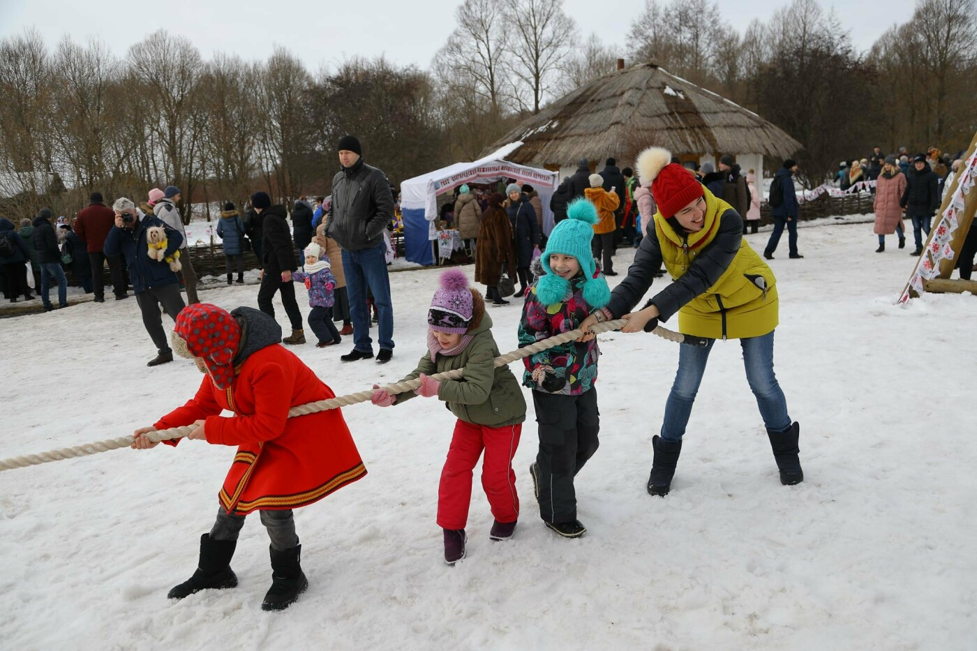 Под Прохоровкой прошёл фестиваль «Маланья зимняя» (фото), фото-18