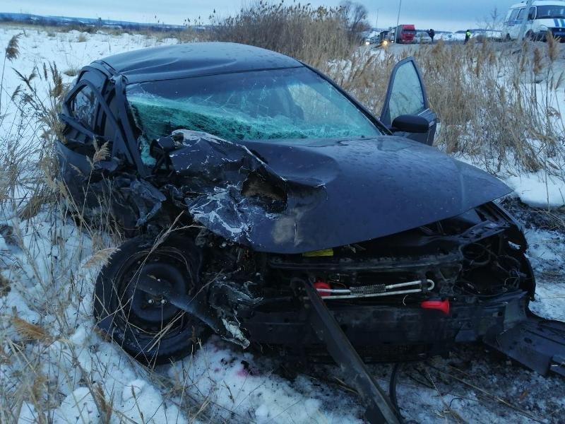 В ДТП под Белгородом погибли водители двух УАЗов, фото-1