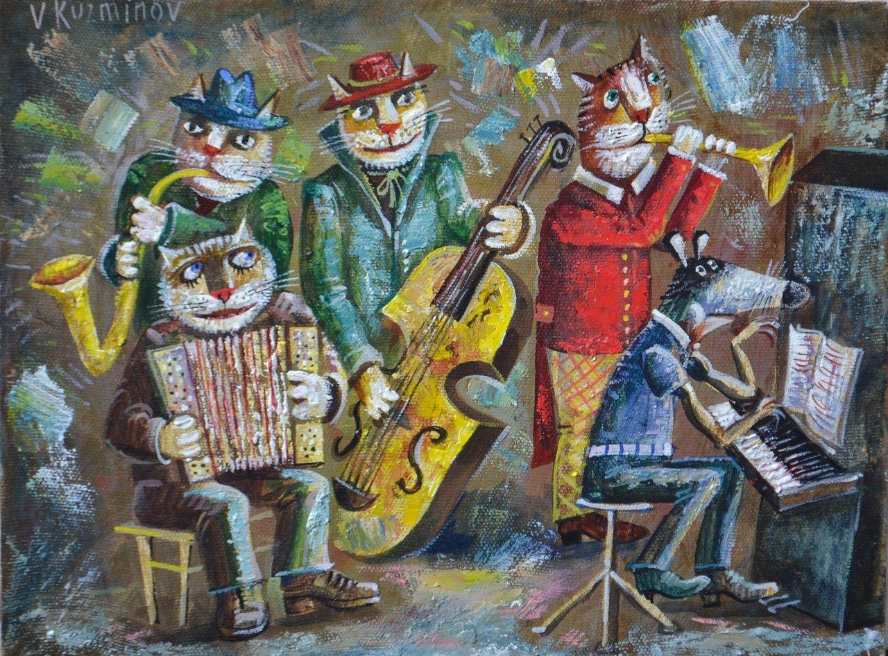 В «Родине» пройдёт выставка картин Валерия Кузьминова с кошками «Кто сказал м…?», фото-1