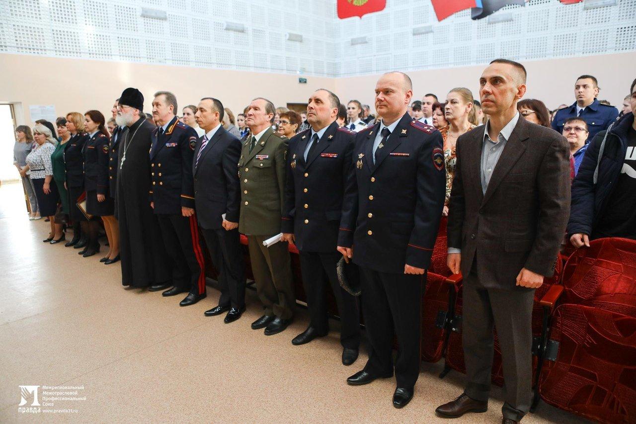 Сергей Фуглаев поздравил выпускников Белгородского правоохранительного колледжа имени Бурцева, фото-11