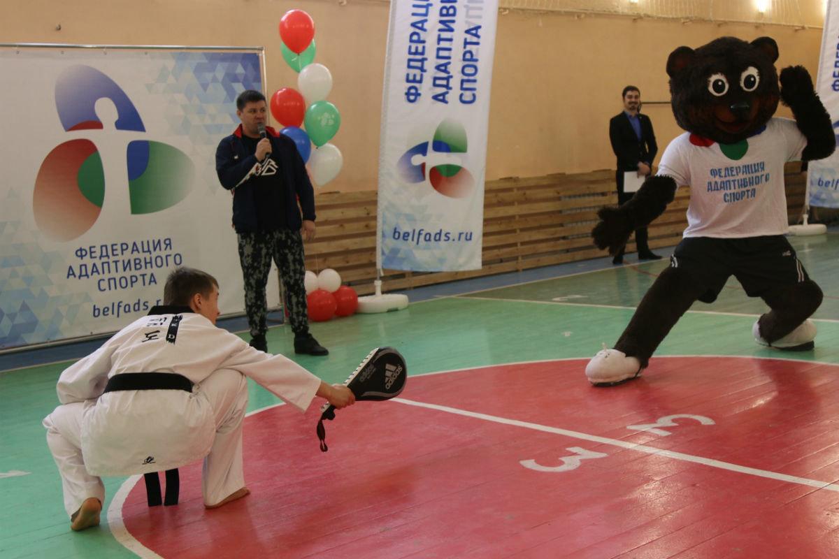 Показательные мастер-классы по тхэквондо, гиревому спорту и стрельбе из лука прошли в коррекционной школе №23, фото-6