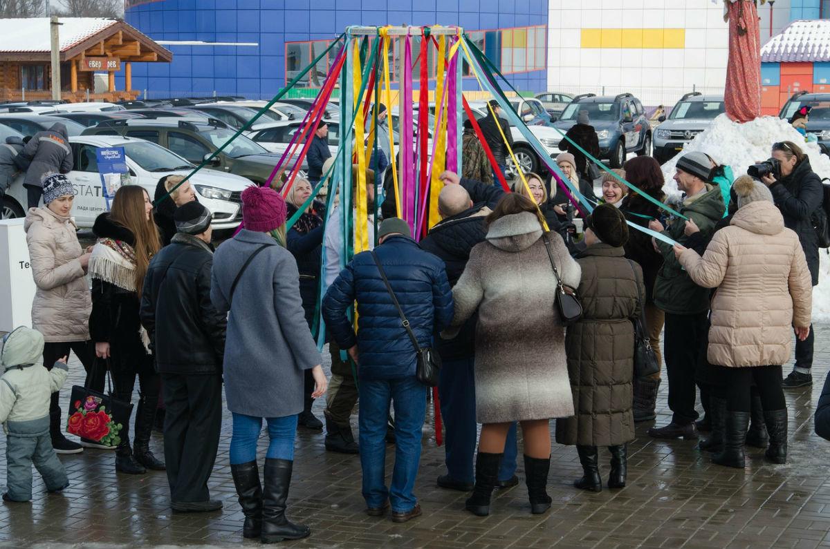 Торопись, честной народ, на широкий хоровод! «Авто-Белогорье» приглашает на Масленицу, фото-4