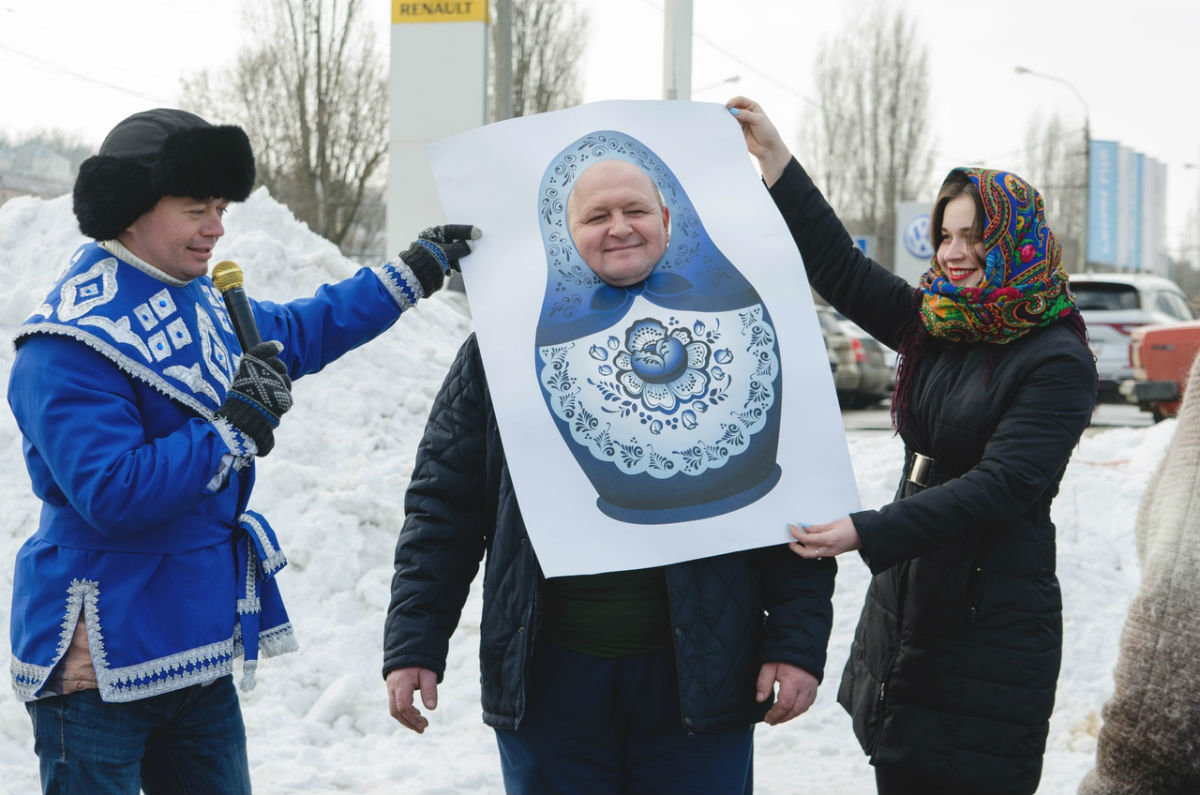 Торопись, честной народ, на широкий хоровод! «Авто-Белогорье» приглашает на Масленицу, фото-6