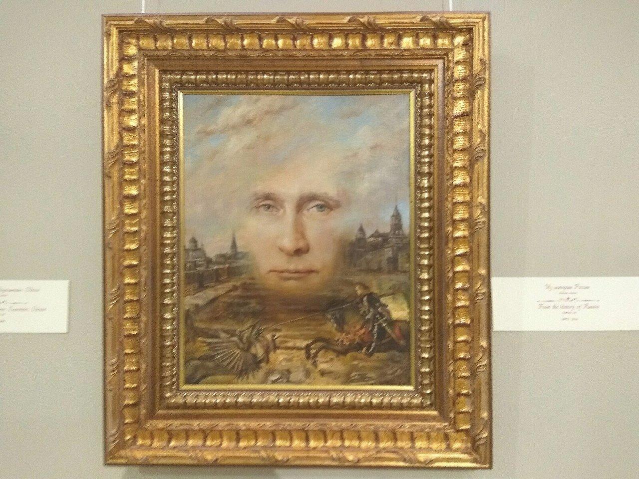 Баня с губернатором и портрет Путина в подарок. Никас Сафронов привёз в Белгород выставку, фото-2
