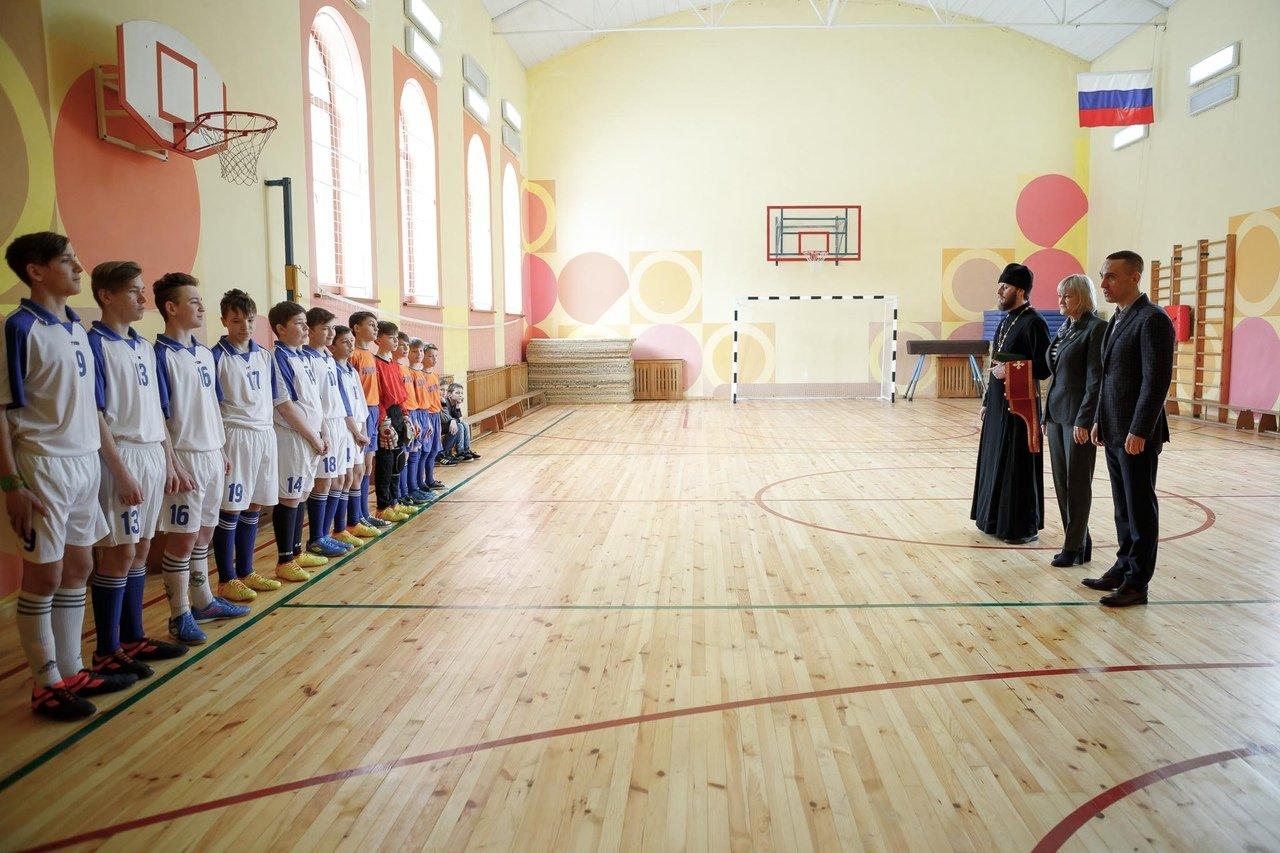 Команды профсоюза «Правда» и воспитанников Прохоровского центра развития и социализации ребёнка встретились на футбольном поле, фото-3